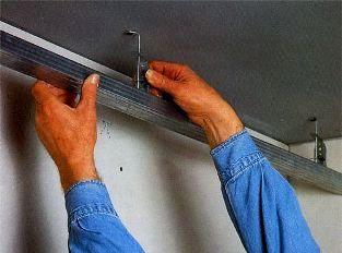 Подвеска для гипсокартонного потолка